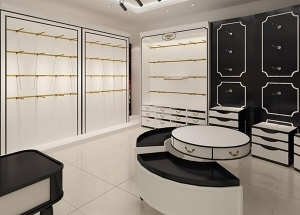 lingerie store fixtures decoration for interior design