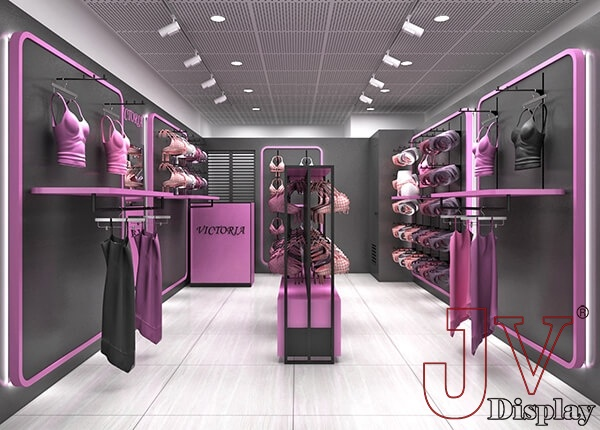 Underwear Display Racks For Lingerie Boutique Store For