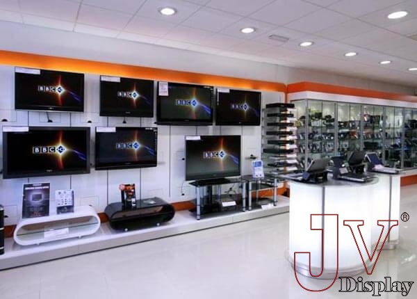 electronics showroom interior design