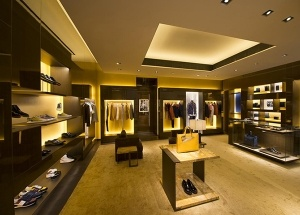 men shop design boutique interior display furniture