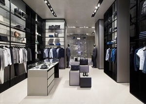 Luxury clothing boutique interior design ideas
