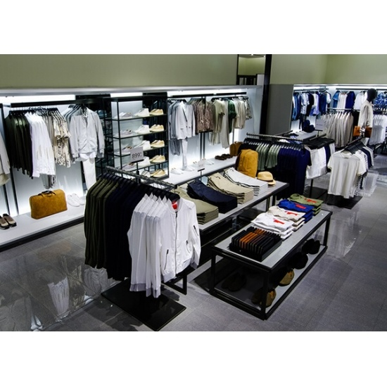 Large Clothes Showroom Interior Design With Display Furniture For Sale Large Clothes Showroom Interior Design With Display Furniture Suppliers