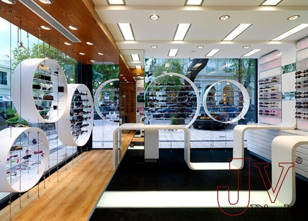 interior decoration optical shop