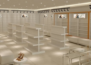 footwear showroom display