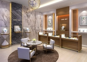 jewelry store display design