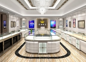 custom jewelry store showcases glass display furniture