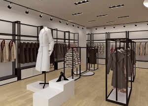 retail clothing display