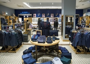 men shop design ideas for clothing displays