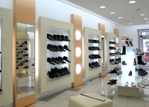 footwear display racks shoes shop display systems