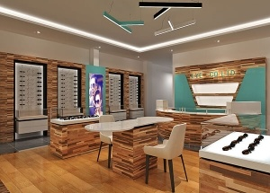 sunglasses store design