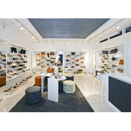 Lady Shoe Displays For Retail Store Design