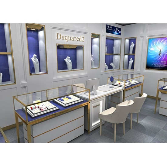 Retail Store Design Job Description: Jewelry Display Ideas For Retail Luxury Store For Sale
