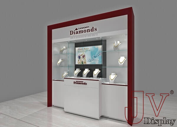 jewelry wall display cases