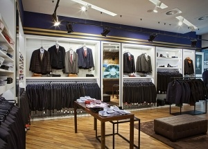 menswear store display