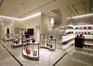 bag shop interior