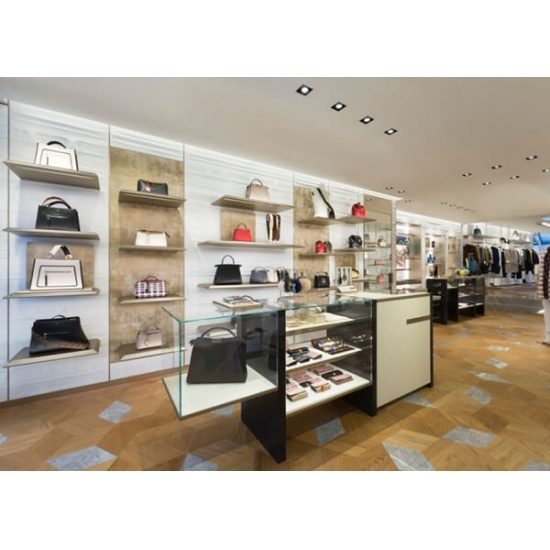 Handbag Shop Decoration And Display Fixtures For Sale Handbag Shop