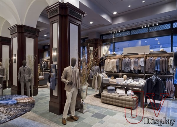 Suit Shop Design With Display Furniture Fixtures For Sale Suit Shop Design With Display Furniture Fixtures Suppliers