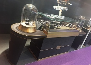 luxury jewellery counter