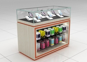 mobile display cabinet