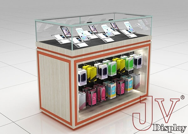 Mobile Phone Shop Counter Wooden Glass 4 Ft For Salemobile Phone