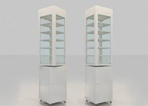 Modern Corner Display Cabinet