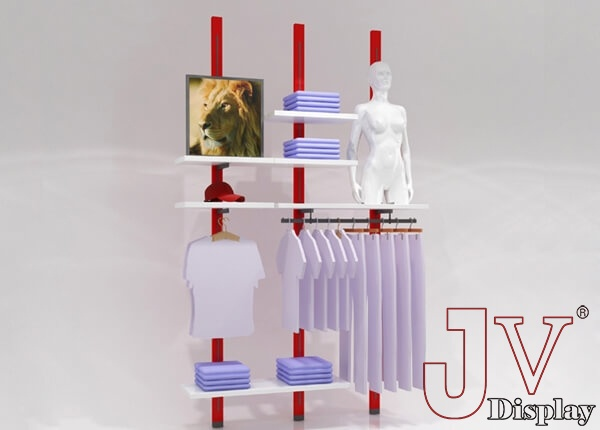 wall mounted garment rack