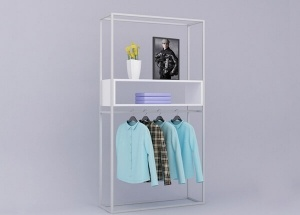 clothing wall display ideas