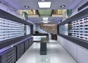 new eyewear shop design
