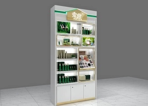 cosmetic wall display