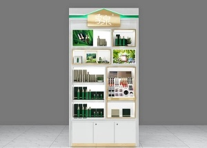 cosmetic wall display cabinet for retail shop