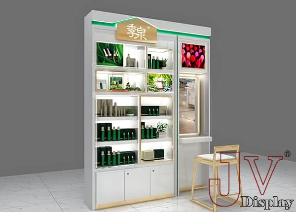 skin care display ideas
