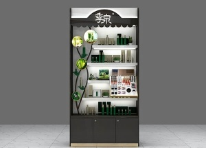 retail cosmetic display design stores