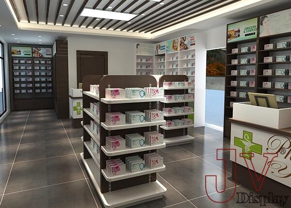 Medical Shop Furniture Design Retail Store Interior For Sale
