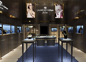 jewelry shop design Saudi Arabia