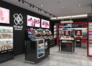 design cosmetics shop