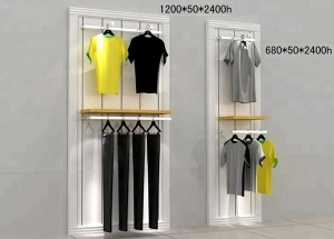 wall hanging clothes rack