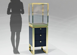 jewelry display pedestal stands for store