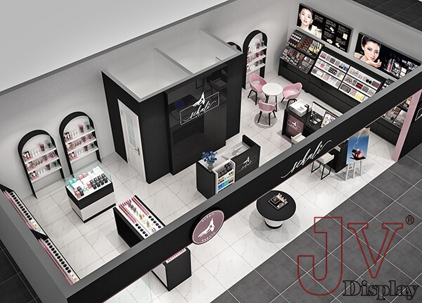 cosmetics shop decoration ideas