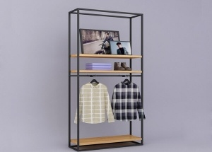 boutique clothing wall racks
