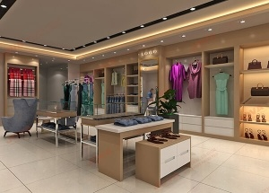 clothes shop design