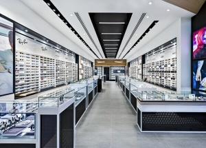 optical showroom designs