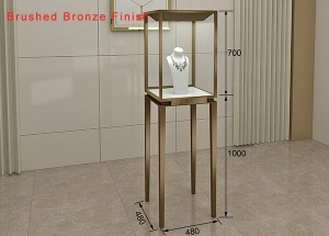 jewellery pedestal jewelry display cases