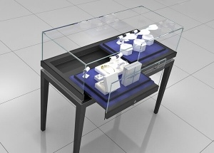 modern jewelry display cases