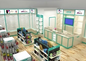 mobile shop fitting design