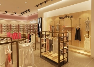 underwear retail display for lingerie store design