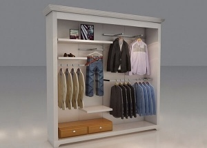 apparel wall display