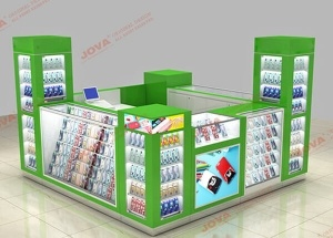 cell phone accessories mall kiosk
