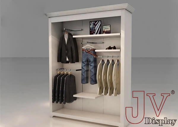 retail wall display units