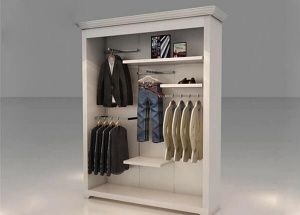 retail wall display units for clothing store