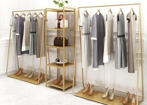 clothes rack design for shop